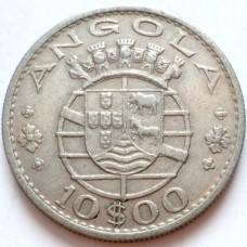 АНГОЛА 10 ЭСКУДО 1969 г.