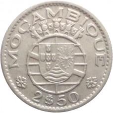 МОЗАМБИК 2,5 ЭСКУДО 1953 г.