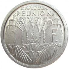 РЕНЮНЬОН 1 ФРАНК 1948 г. UNC!