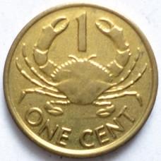СЕЙШЕЛЬСКИЕ О-ВА 1 ЦЕНТ 2004 г. UNC!
