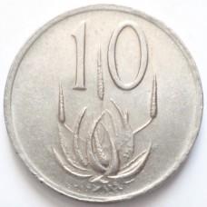 ЮАР 10 ЦЕНТОВ 1989 г. ГЕРБ.