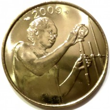 ЗАПАДНЫЕ АФРИКАНСКИЕ ШТАТЫ 25 ФРАНКОВ 2004-2009 г. FAO! UNC!