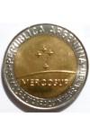 АРГЕНТИНА 1 ПЕСО 1998 г. МЕРКОСУР! UNC!  ОЧЕНЬ РЕДКАЯ!