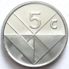 АРУБА 5 ЦЕНТОВ 1995-2005 г. UNC!