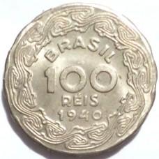 БРАЗИЛИЯ 100 РЕЙС 1940 г. президент Бразилии Жетулиу Варгас.