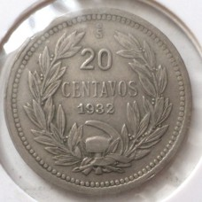 ЧИЛИ 20 СЕНТАВО 1932 г.