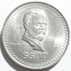 МЕКСИКА 500 ПЕСО 1987 г. UNC!