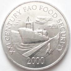 ПАНАМА 1 СЕНТЕСИМО 2000 г. FAO. UNC!