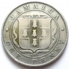 ЯМАЙКА ПЕННИ 1926 г.  ГЕОРГ V.  РЕДКАЯ !