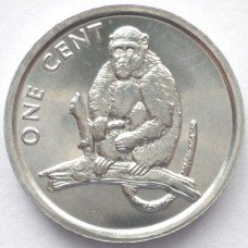 КУКА О-ВА 1 ЦЕНТ 2003 г. ОБЕЗЬЯНА. UNC!