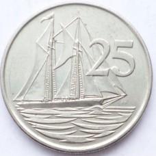КАЙМАНОВЫ О-ВА 25 ЦЕНТОВ 2002 г.