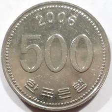 ЮЖНАЯ КОРЕЯ 500 ВОН 2006 г.