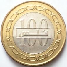 БАХРЕЙН 100 ФИЛСОВ 2010 г. UNC!