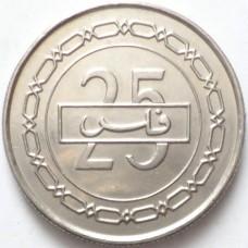БАХРЕЙН 25 ФИЛСОВ 2007 г. UNC!