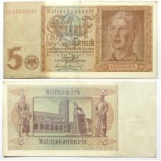 ГЕРМАНИЯ 5 МАРОК 1942 г.