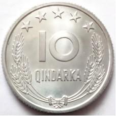 АЛБАНИЯ 10 КИНДАРКА 1969 г.  25 лет ОСВОБОЖДЕНИЯ. UNC!