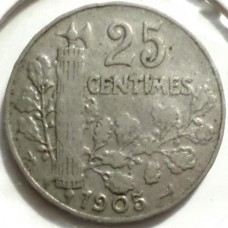 ФРАНЦИЯ 25 САНТИМ 1905 г.