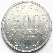 ГЕРМАНИЯ 500 МАРОК 1923 г. А