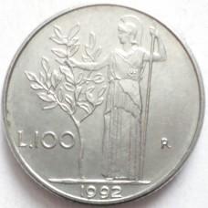 ИТАЛИЯ 100 ЛИР 1982 г.