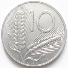 ИТАЛИЯ 10 ЛИР 1982-1988 г.