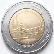 ИТАЛИЯ 500 ЛИР 1982 г.