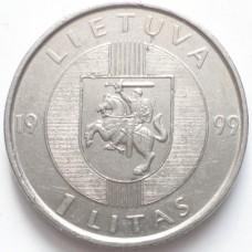 ЛИТВА 1 ЛИТ 1999 г.