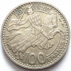 МОНАКО 100 ФРАНКОВ 1950 г.