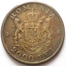 РУМЫНИЯ 2000 ЛЕЙ 1946 г.