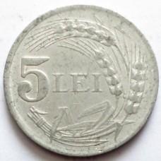 РУМЫНИЯ 5 ЛЕЙ 1947 г.