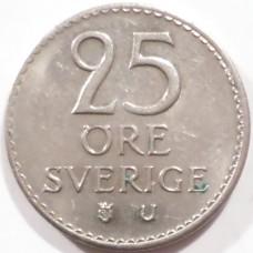 ШВЕЦИЯ 25 ЭРЕ 1971 г.