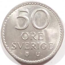 ШВЕЦИЯ 50 ЭРЕ 1972 г.
