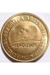 АРГЕНТИНА 50 СЕНТАВО 1998 г. МЕРКОСУР !!!     ОЧЕНЬ РЕДКАЯ!