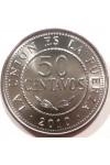 БОЛИВИЯ 50 СЕНТАВО 2010 г. UNC !!! ИЗ РОЛЛА !!!