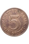 ЭСТОНИЯ 5 ЦЕНТОВ 1931 г.