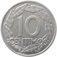 ИСПАНИЯ 10 САНТИМ 1959 г.