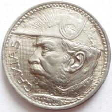 БРАЗИЛИЯ 2000 РЕЙС 1935 г. СЕРЕБРО !