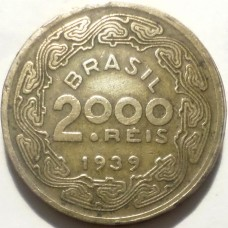 БРАЗИЛИЯ 2000 РЕЙС 1939 г. РЕДКАЯ !