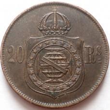 БРАЗИЛИЯ 20 РЕЙС 1869 г.