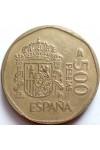 ИСПАНИЯ 500 ПЕСЕТ 1988 г.