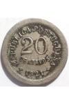 ПОРТУГАЛИЯ 20 СЕНТАВО 1921 г. РЕДКАЯ !!!