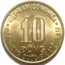 ВЬЕТНАМ 10 ДОНГ 1974 г. UNC !