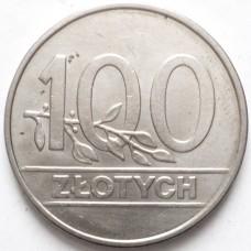 ПОЛЬША 100 ЗЛОТЫХ 1990 г.
