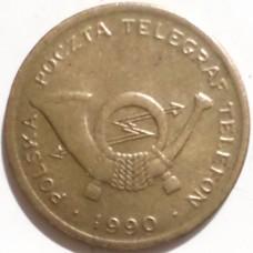 ПОЛЬША ТЕЛЕФОННЫЙ ЖЕТОН 1990 г. А