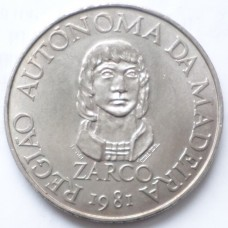 МАДЕЙРА 100 ЭСКУДО 1981 г. ZARCO.