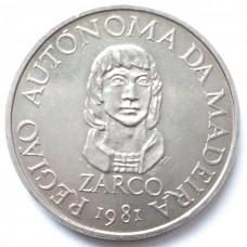 МАДЕЙРА 25 ЭСКУДО 1981 г. ZARCO. UNC!