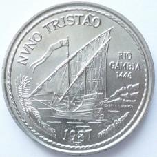 ПОРТУГАЛИЯ 100 ЭСКУДО 1987 г. NUNO TRISTAO.