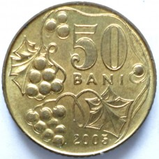 МОЛДОВА 50 БАНИ 2005 г. UNC!